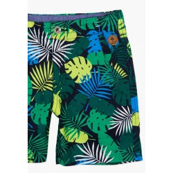 Boboli - Poplin bermuda shorts for boy