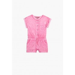 Boboli - Combined knit jumpsuit for baby girl