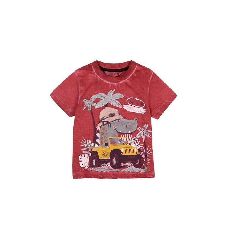 Boboli - Knit t-shirt flame for baby boy