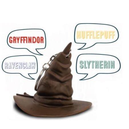 Harry Potter Hogwarts Sorting Hat Keyring with Sound