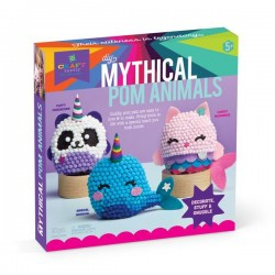 Ann Williams - Craft-tastic DIY Mythical Pom Animals