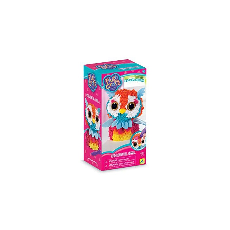 Plush Craft - Colourful Owl