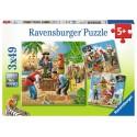 Ravensburger - 3x49pc Puzzles