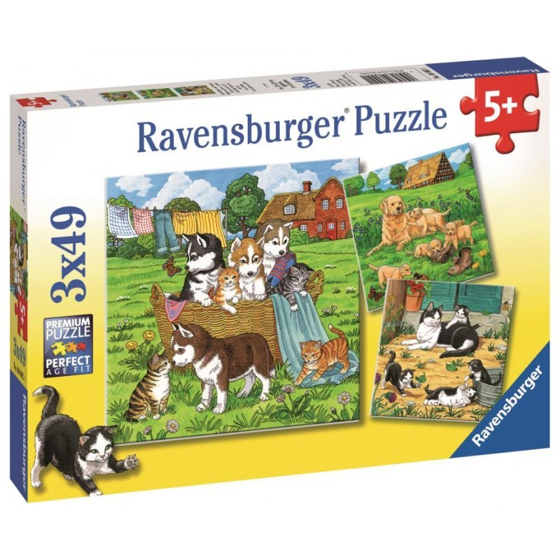 Ravensburger - 2x12pc Puzzles