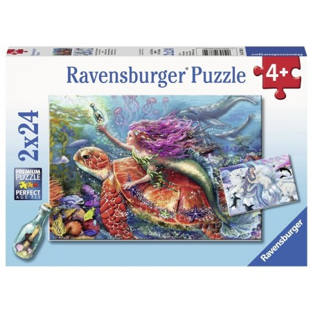 Ravensburger - 2x24pc Puzzles