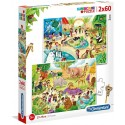 Clementoni - Kids Puzzles 2x20,60,2x60, 104 and 180pc