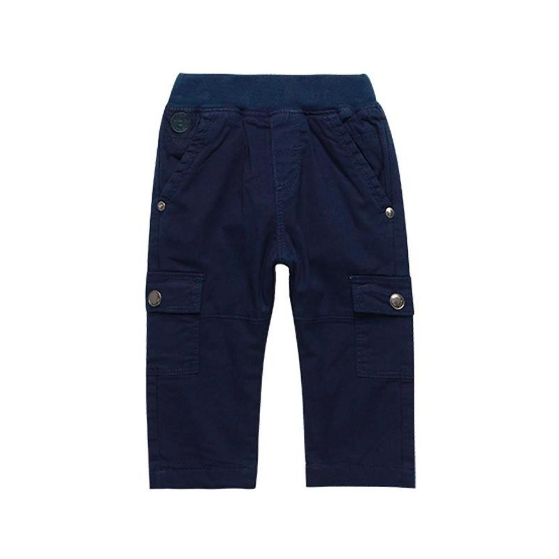 Boboli - Navy garbardine trousers for boy