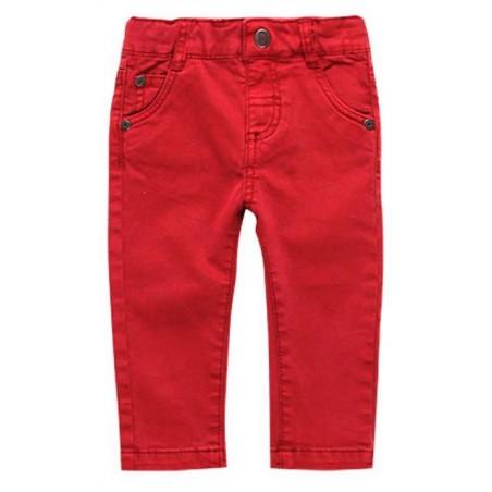 Boboli - Red stretch twill trousers for boy