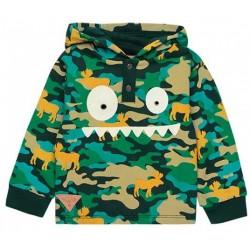 Boboli - Fleece hooded sweatshirt for boy