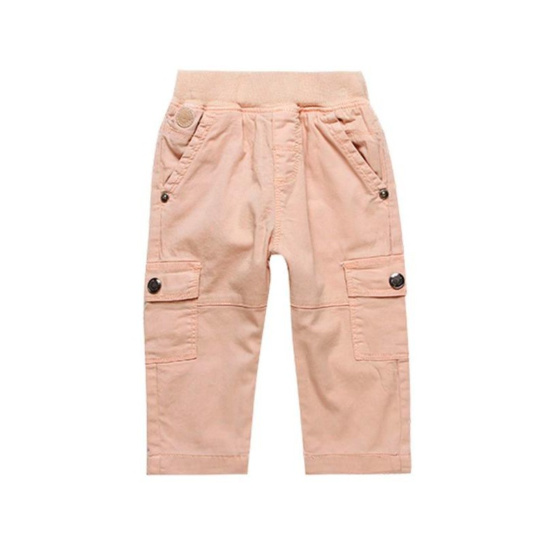 Boboli - Orange garbardine trousers for boy