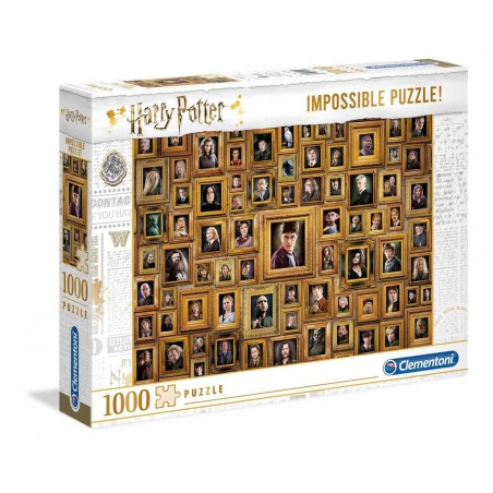 Clementoni Puzzle Harry Potter and the Chamber of Secrets Impossible Puzzle 1,000 pieces