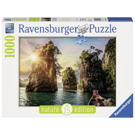 Ravensburger - Three Rocks in Cheow, Thailand 1000pc Puzzle