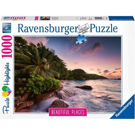 Ravensburger - Praslin, Island in The Seychelles 1000pc Puzzle