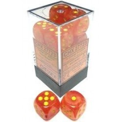 D6 Dice Ghostly Glow 16mm...