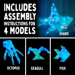 Thames and Kosmos : Creatto - Shimmer Shark & Ocean Pals